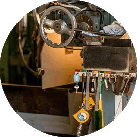 工研の機械加工